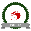 "Badge icon ""Apple (5258)"" provided by Kimberly Chandler, from The Noun Project under Creative Commons - Attribution (CC BY 3.0)"